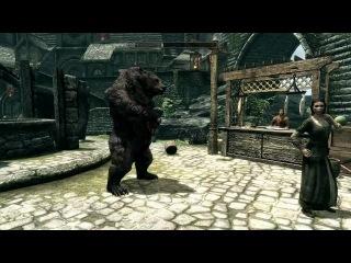 Skyrim — Медведь-лютнист